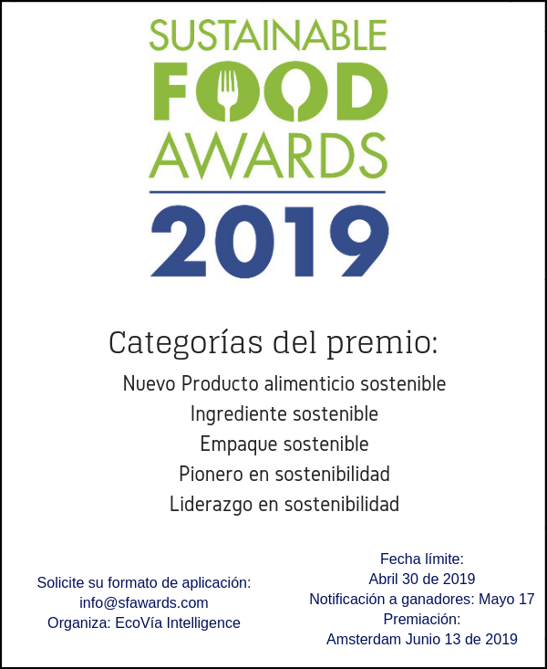 Sustainable Food Awards 2019 rev