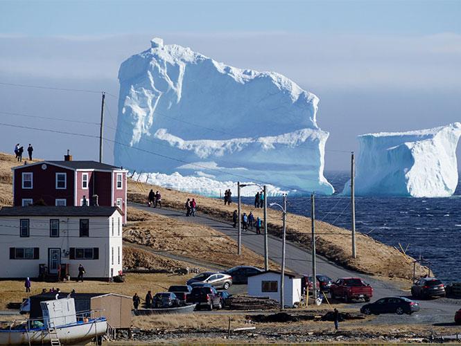 Histórica temporada de icebergs ha permitido avistar hasta 648 témpanos de hielo