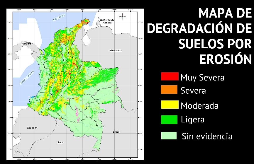Aumentan tierras erosionadas en colombia for 4 usos del suelo en colombia